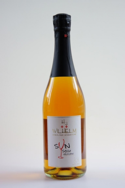 SYN-SECCO-Quitte-Birne (alkoholfreier Fruchtsecco)